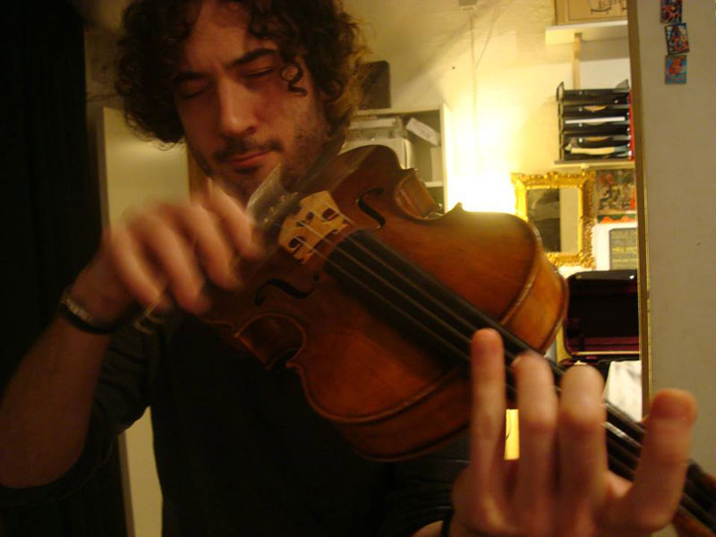 We record real instruments, with crazy good musicians, like David Lombardi