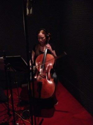 Recording the virituoso Cellist Beata Söderberg